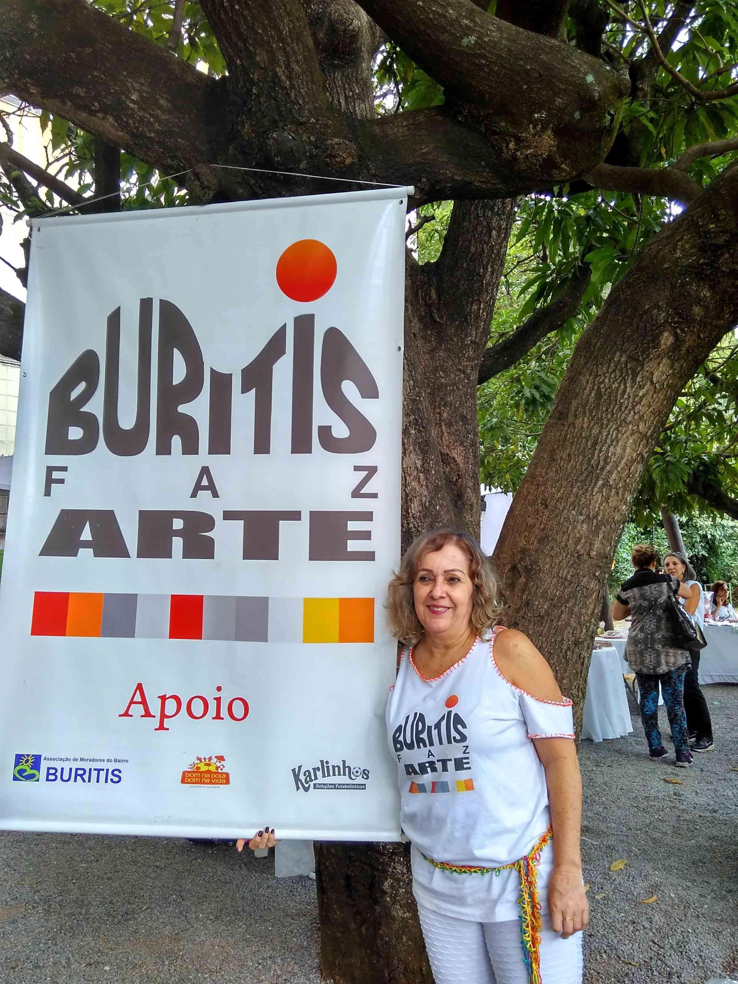 Desirée Guimarães, organizadora da feira
