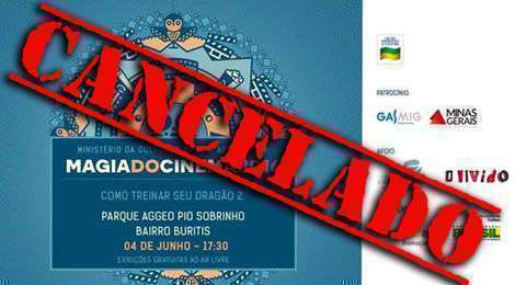 BANNER MAGIA DO CINEMA CANCELADO