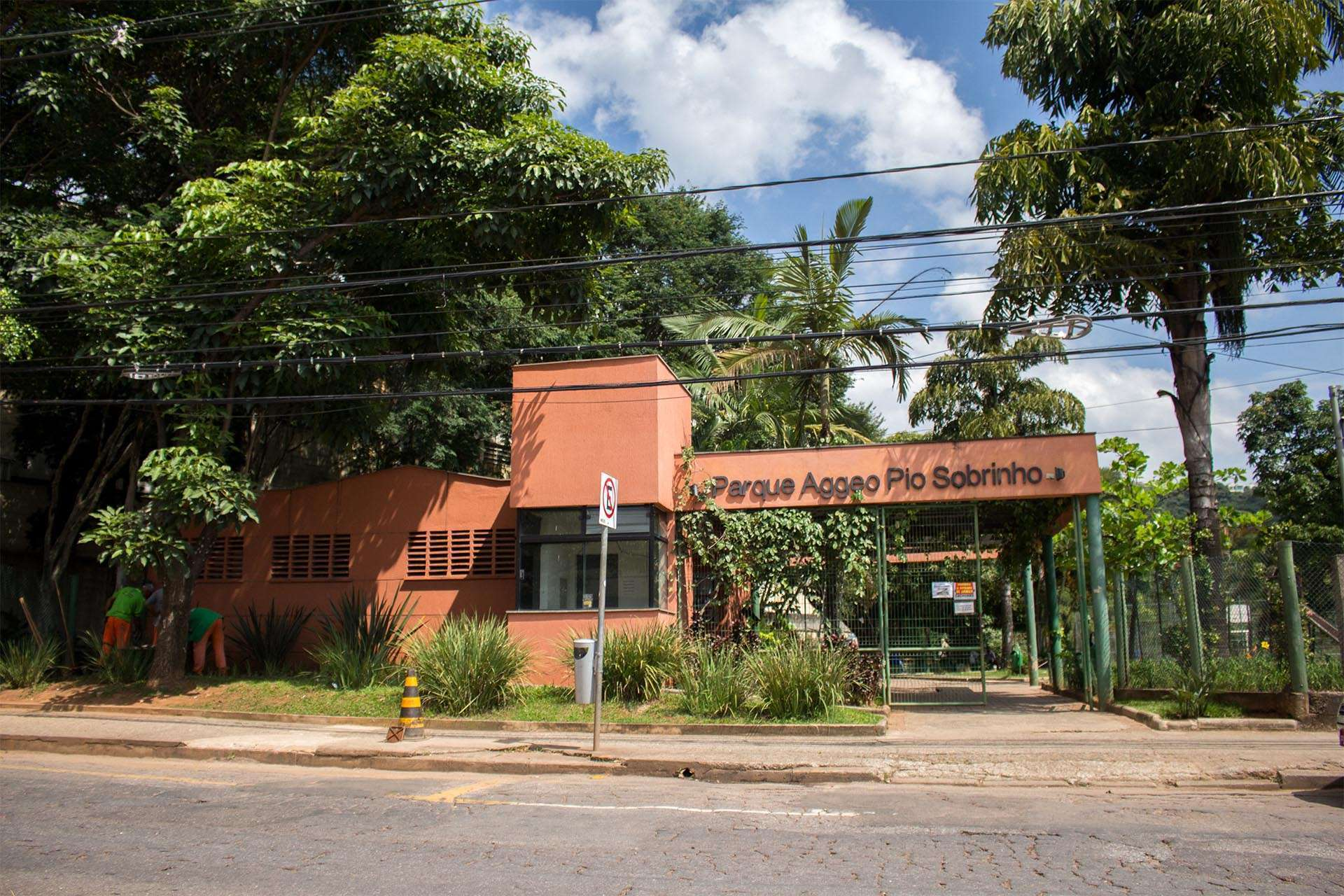 Parque Aggeo Pio Sobrinho - Entrada. Foto: William Araújo