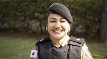Tenente Lívia Pimenta. Foto- William Araújo