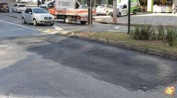 Mesmo com manutenção emergencial, avenida ainda precisa de obra. Foto: William Araújo