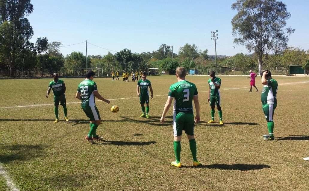 Mesmo com início da partida desfavorável, o time conseguiu empatar o jogo. Foto: Roberto Guimarães