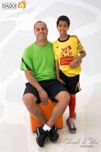 Eduardo da Silva e Bernardo. Foto: William Araújo. Edição: Welleson Mendes