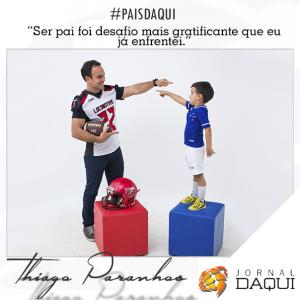 Thiago Paranhos. #paisdaqui. Foto: William Araújo. Edição: Welleson Mendes.