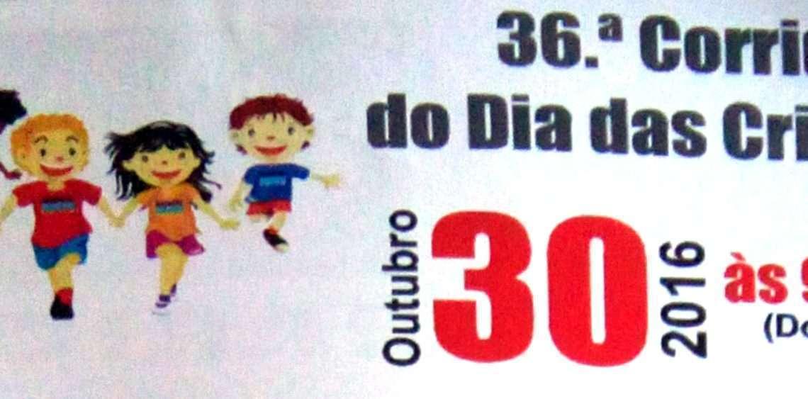 Flyer do evento Mês das Crianças