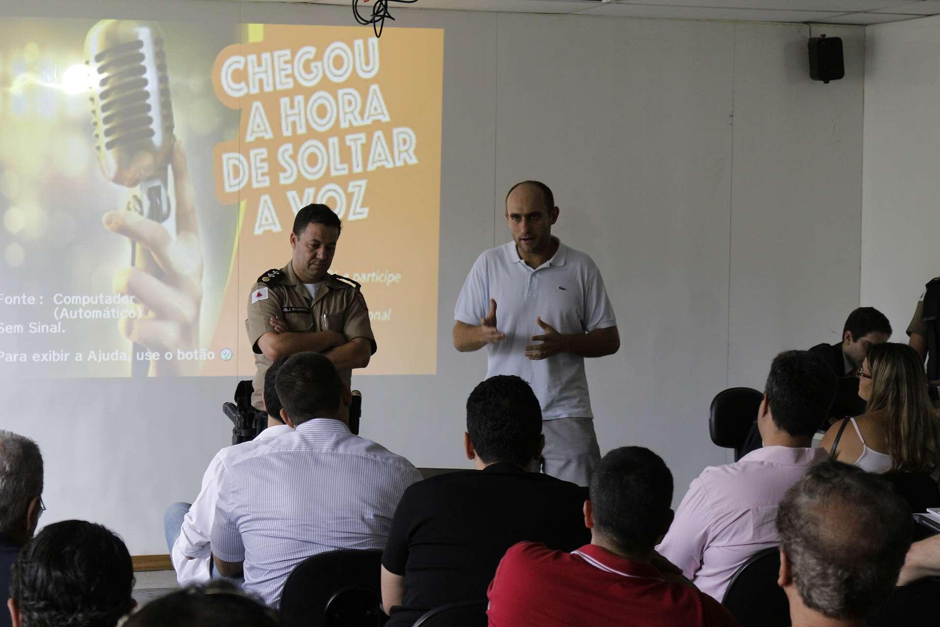 Major Godinho e Delegado Flávio Grossi