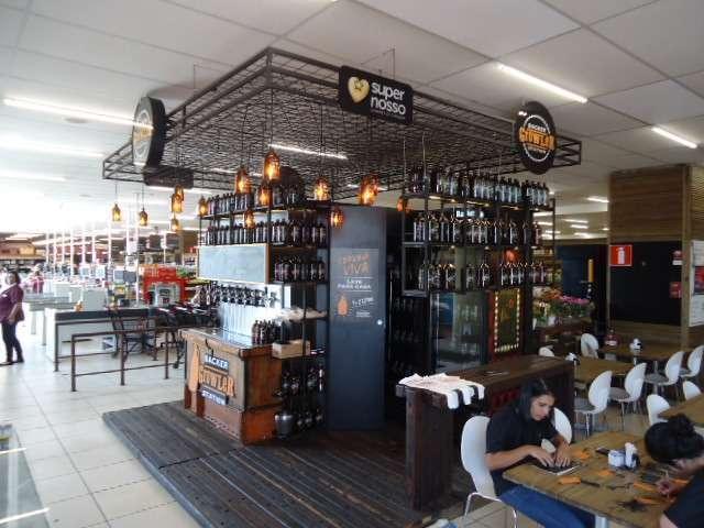 Growler Station Backer no Super Nosso Nova Lima - Fonte - http://jornalhrz.com.br/site/?p=2001