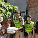 126 Cia em ação social na Vila Ventosa