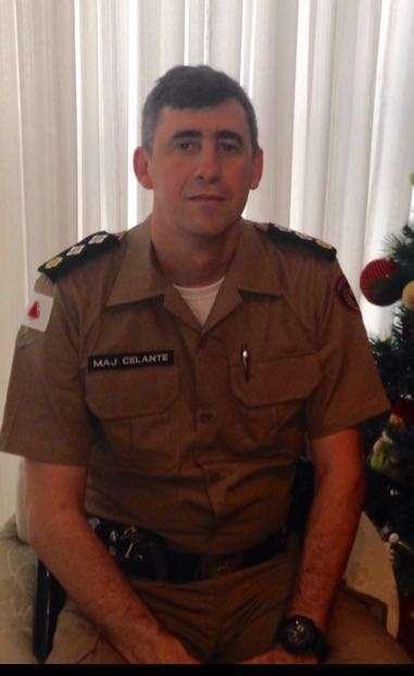 Major Celante - Novo Comandante da 126ª Companhia