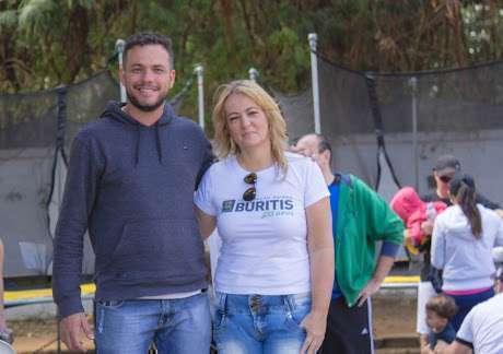 João Paulo, Gerente de Eventos da Secretaria de Esportes e Lazer, e Gracy Torres, Diretora de Projetos e Eventos da ABB - Créditos - Âncora Foto e Vídeo - William Oliveira