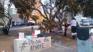 """Doações dos moradores à """"Casa da Árvore"""" - foto: Ney Felipe"""