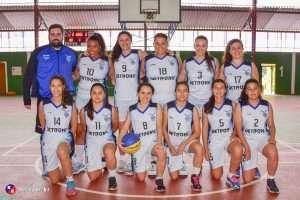 Equipe de basquete feminino EABH