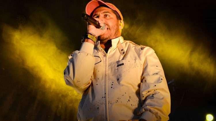 Criolo se apresentando na inauguração do espaço Boulevard - Foto Maykel Douglas