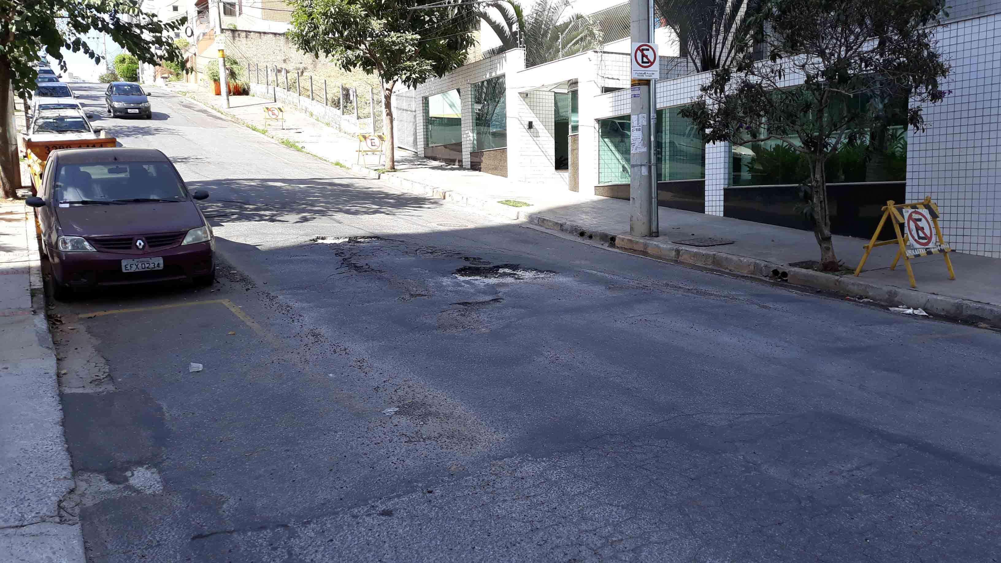 Rua Eli Seabra Filho - Associação de Moradores do Bairro Buritis