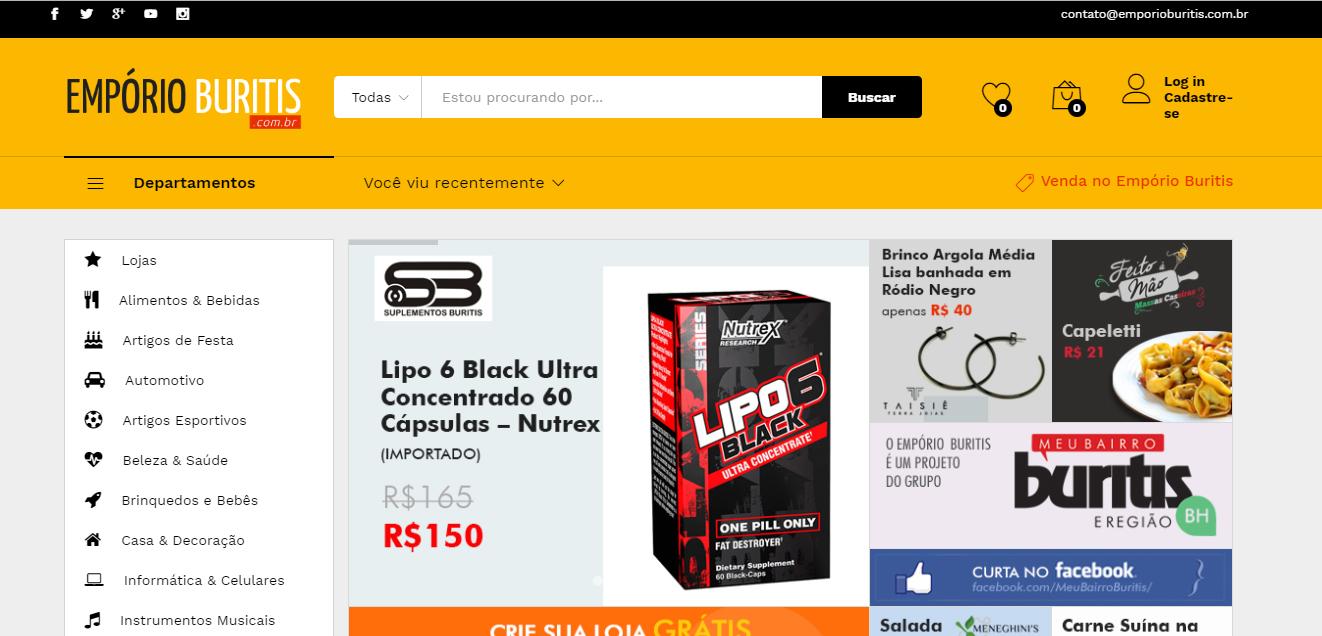 Buritis ganha loja virtual voltada ao bairro - Jornal Daqui e8f1fa0a8dce1