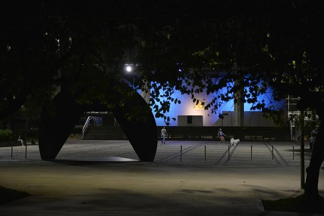 Palácio da Inconfidência, em 2019, iluminado de azul para dar visibilidade à causa.